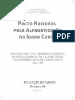 PNAIC - Educacao No Campo Unidade 6 MIOLO