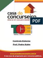 Controle Externo (Pedro Kuhn - A Casa Do Concurseiro)