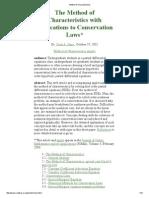 Método Das Características Com Aplicações as Leis de Conservação_versaoCorrigida