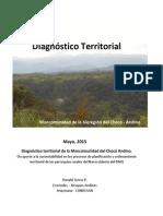 Diagnóstico Territorial Mancomunidad Chocó Andino 06-2015