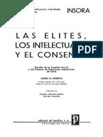 Las Elites, Los Intelectuales y El Consenso