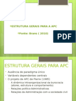 Estrutas Gerais Da Administração Pública Comparada