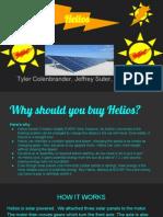 solar car helios  presentation