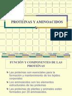 6.1 Proteínas y Aminoácidos