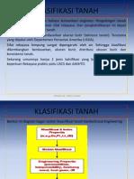 Klasifikasi Tanah Usda Uscs Kuliah 3 Genap 2014 2015