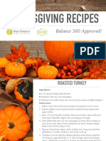 Balance 360 Thanksgiving Guide