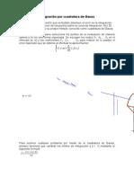 Integración Por Cuadratura de Gauss