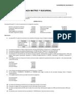 Operaciones Diversas Entre Eco (Caza Matriz) y Tres Sucursales (1)