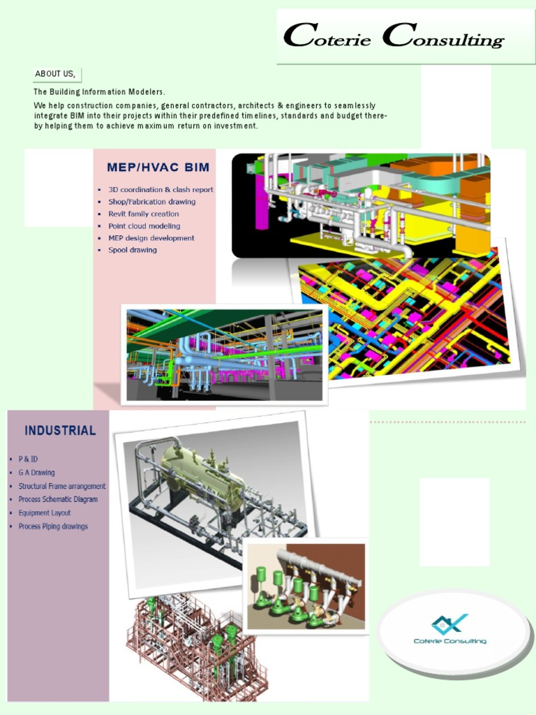 Coterie | Building Information Modeling | Production And