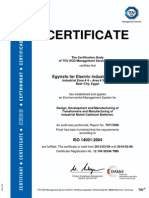 18ISO - 14001 Certificate