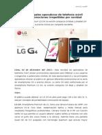 NP LG y principales operadoras de telefonía móvil ofrecen promociones irrepetibles por navidad vr2