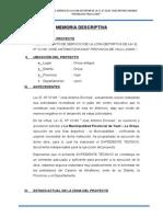 Memoria Descriptiva Losa Deportiva 1