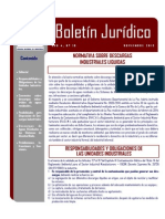BOLETIN-JURIDICO-No-19 RAD 926 Gobernacion Descargas Industriales
