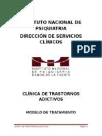 Modelo de TX. Basado en Gpc. Clin. Adicciones (v.2)