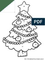 Sumas y Restas - Árbol de Navidad
