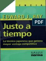 223693878 Justo a Tiempo Edward J Hay
