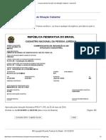 CNPJ Comprovante de Inscrição e de Situação Cadastral - EMCASA