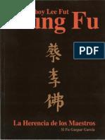 Artes Marciales - Choy Lee Fut Kung Fu - La Herencia de Los Maestros (Si Fu Gaspar García)
