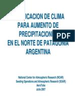 Modificacion Del Clima - Patagonia