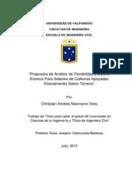 Propuesta de Análisis de Flexibilidad y Diseño Sísmico