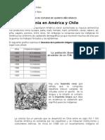 Documento de Estudio de Quinto Año Básico (la colonia en Chile y América)