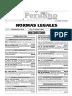 Normas Legales, jueves 3 de diciembre del 2015