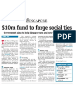 $10m fund to forge social ties