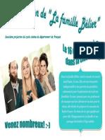 Affiche Famille Belier