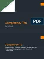 competency ten