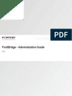 FortiBridge Admin Guide 420