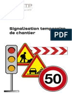 Memo Signalisation Temporaire de Chantier - OPPBTP - 2015
