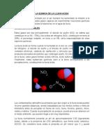 La Quimica de La Lluvia Acida