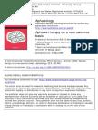 Aphasia Therapy on a Neurosciense Basis