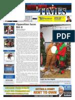 December 4, 2015 Strathmore Times