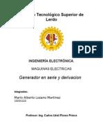 Generador Serie y Derivacion