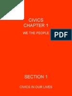 civics chapter 1