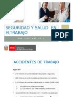 Seguridad y Salud en El Trabajo Inia 2015