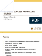C3 Six Sigma Success Stories