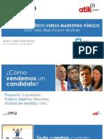 Marketing Político vs Marketing Público