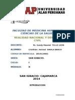 TA 2014--Realidad Nacional y Defensa Civil