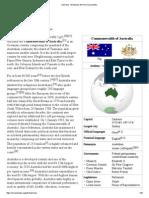 Australia - Wikipedia, The Free Encyclopedia