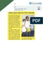 El FNA inició su campaña para llevar un regalo a los niños de Tierrabomba en Cartagena