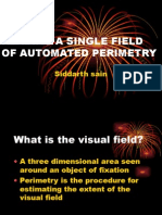 Perimetry-Reading a Sinsle Field