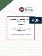 PANDUAN KERJA KURSUS PENGALAMAN BERASAKAN SEKOLAH-1.doc