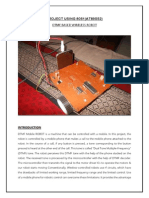 dtmf based mobile robot