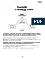 Heuristic Test Strategy Model (HTSM) by James Bach, Version 5.2.2