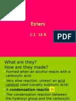CI13.5(Esters)