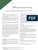 Norma ASTM Para Cp - Calorimetria