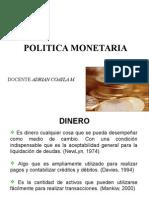 5.-Dinero y Politica Monetaria