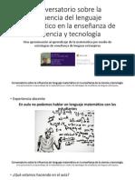 Una aproximación al aprendizaje de la matemática por medio de estrategias de aprendizaje de lenguas extranjerasguaje matematico
